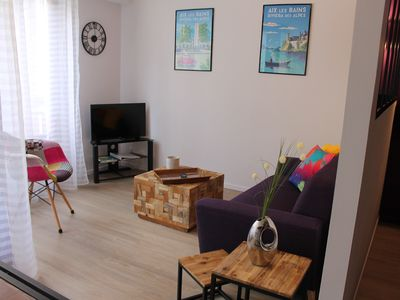 Photo for Cozy apartment 3 * with parking for weekend cures and holidays.