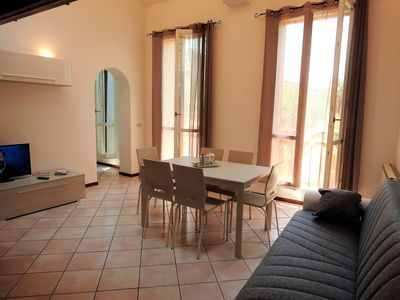 Photo for Large duplex apartment sleeps 5, private parking space, in the center
