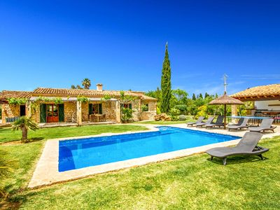 Photo for Can Roig - Lovely Farmhouse with Pool, A/C, Wi-Fim Ping-Pong. Close to Pollensa