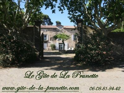 Photo for The Gite de la Prunette (air conditioning, heated pool) within a horse farm