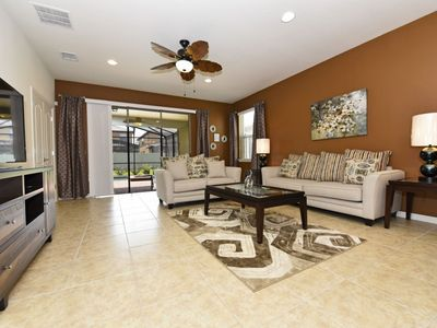 Photo for Beautiful 7 Bed Pool Home At Windsor at Westside Resort