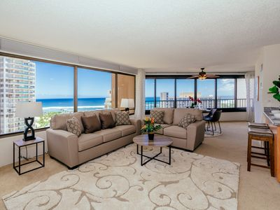 Photo for Panoramic Ocean View Condo Close to Beaches, Lots of Amenities, Free Parking!
