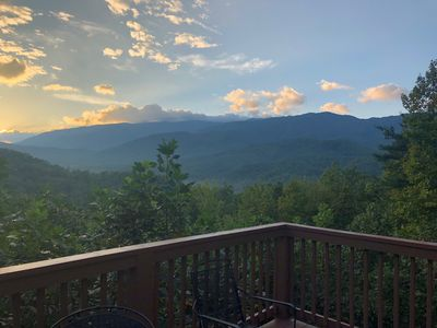 Photo for Amazing Views from Large, Luxurious Newly Renovated Home in the Smoky Mtns.