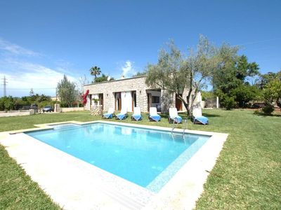 Photo for Beautiful Holiday Home in Búger Balearic islands with Pool