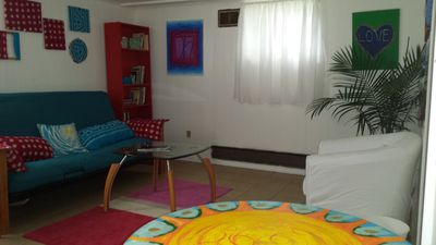 Photo for Art Infused Apartment Near Transit To Nyc