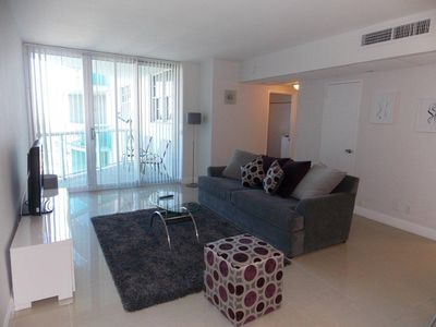 Photo for Fully Furnished Condo, Direct Access to Beach, at The Tides Complex