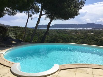 Photo for Villa 250m2 overlooking the Gulf of Porto Vecchio