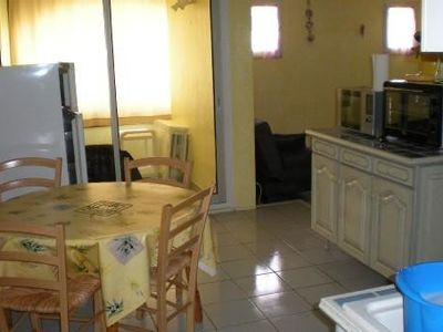 Photo for Apartment near beach with mountain views, Le Barcarès 5 people