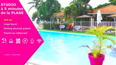 Photo for Rental studio Ste Anne Martinique for 3 people