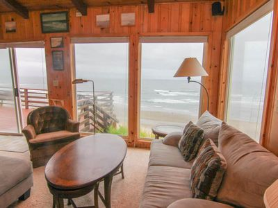 Photo for Rustic, Romantic Cottage Soars Above the Ocean