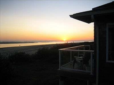 Photo for Beautiful Beachfront home - right ON the beach!