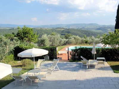 Photo for Nice apartment for 4 guests with pool, WIFI, TV and balcony