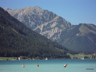 mountain lake ca. 15 km  fare from the chalet