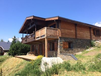 Photo for Chalet Banya - classified **** 150 m2 facing south, 180 ° view, Sauna