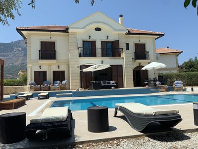 Photo for Luxury family villa with private swimming pool, sleeps 8