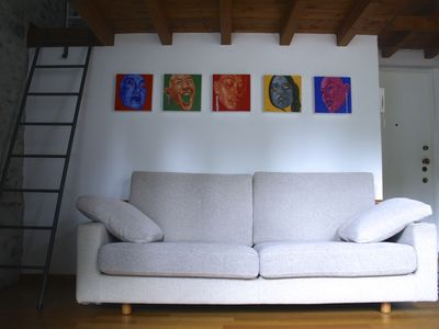 Photo for LOFT7 charming openspace + parking