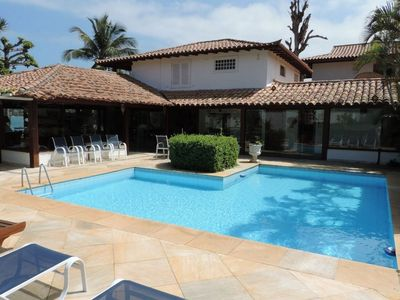 Photo for Buz029 - Prestigious house in front of the sea in Búzios