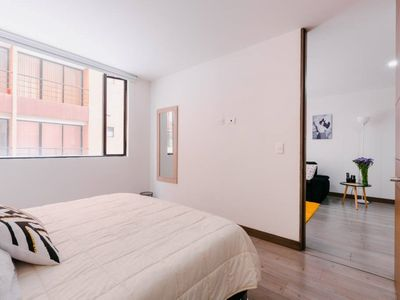 Photo for Modern loft near Zona G-QueenBed/WiFi/Gym/Netflix