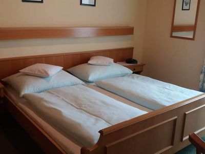 Photo for Double room with shower, WC and Balcony - House Traudi