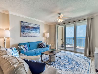 Photo for BEAUTIFUL CONDO, HUGE BALCONY, AWESOME VIEWS!  AUGUST SPECIAL $229/NT! BOOK NOW!