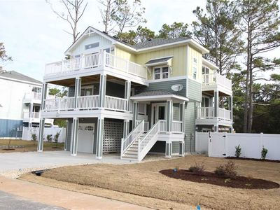 Photo for New Construction for 2019! REDUCED RATES! #CB100: SEMI-SOUNDFRONT in Corolla w/ Private Pool