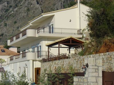 Photo for Delightful 2 bed apt in   exclusive villa  close to Kalamata & beaches.