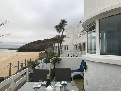 Photo for St Ives - Shoreline - 5 star - beach house stunning views and location