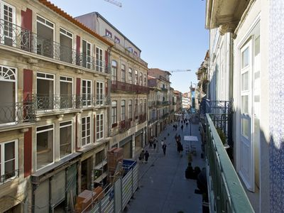 Photo for Famous Flowers Street w / Terrace | Ribeira