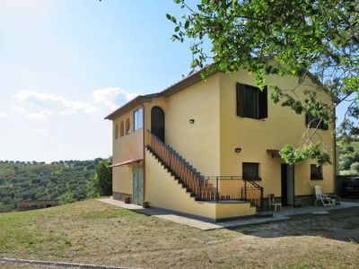 Photo for Vacation home Podere Santa Rosa (CII150) in Cinigiano - 6 persons, 2 bedrooms