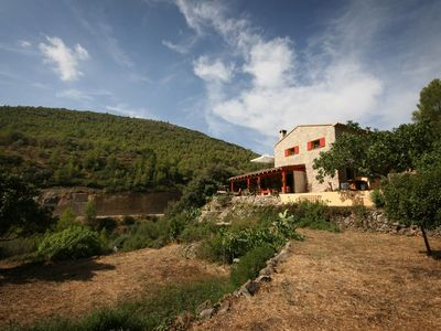 Photo for Rustic apartment in rural Spain close to towns, villages and beaches.