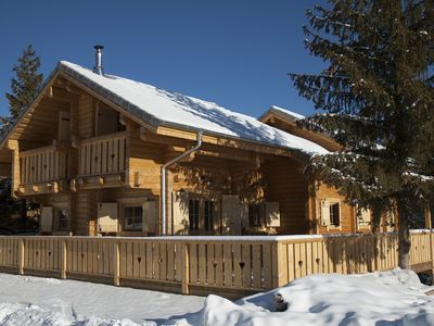 Photo for THE PLAY OF THE WOLF, CHARMING CHALET IN MASSIVE WOOD, NICE TERRACE FULL SOUTH