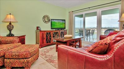 Photo for Stunning Intracoastal Views with Convenient, Private Beach Access Steps Away!