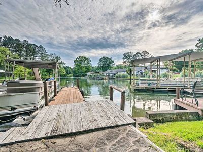 Photo for Rustic Cabin w/ Hot Tub & Dock on Lake Hamilton!
