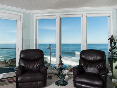 Photo for *Promo!* Three Bedroom Oceanfront Condo, Wifi, HDTV, Hot Tub and Indoor Pool