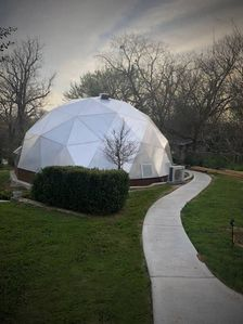 Meditation/Growing Dome... My version of a tropical indoor paradise!
