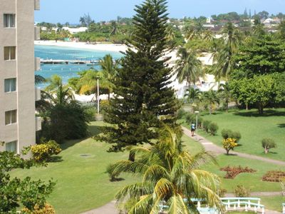 Photo for Beautiful  spacious beach front apartment centrally located in Ocho Rios