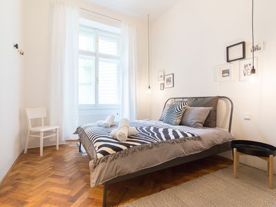 Photo for Stylish Modern Apartment close to Charles Bridge by easyBNB