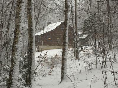 Photo for Log Cabin In The Woods