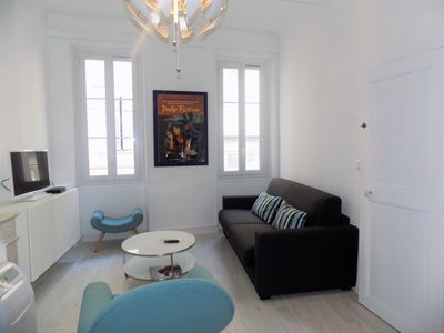 Photo for Charming 2 Pieces - Heart of Cannes 2 minutes walk from the Palais des congrès