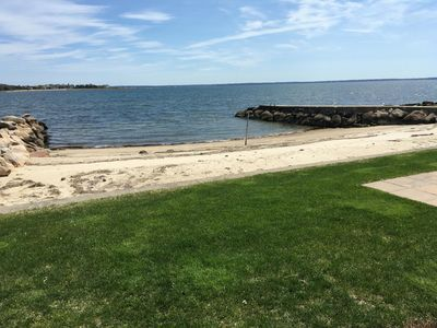 Photo for Boating, private beach on Buzzards Bay minutes from Cape Cod.