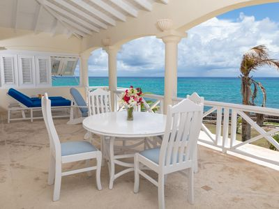 Photo for The million dollar view apartment right on Silver Sands Beach