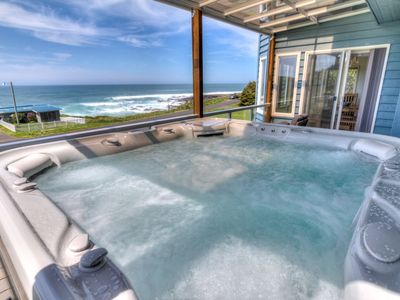 Photo for Amazing Ocean Views in Yachats! Modern Decor! Dog Friendly! Free Night!