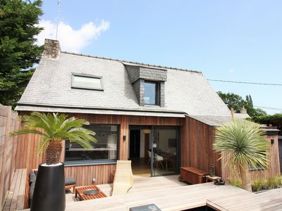 Photo for Breton house, quiet and renovated with swimming pool
