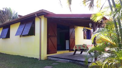 Photo for Small house very nice 2-3pers. at Goyave Guadeloupe