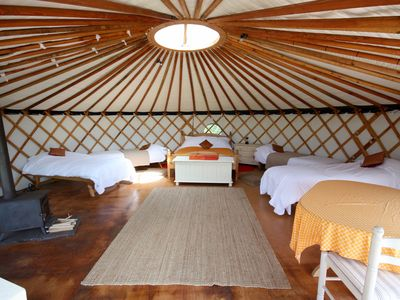 Photo for Luxurious Family Yurt