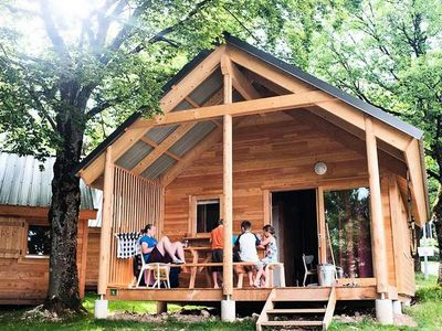 Photo for Camping Indigo Strasbourg **** - Chalet Montana 3 Rooms 6 People