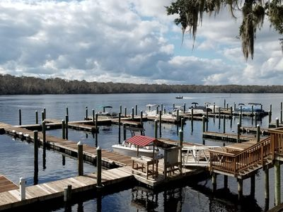 Photo for Paradise on the St. Johns River w/deep water boat slip