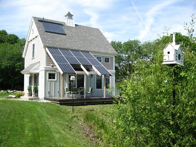 Photo for Charming Solar Cottage at Nature's Edge ✯Father's Day Special✯
