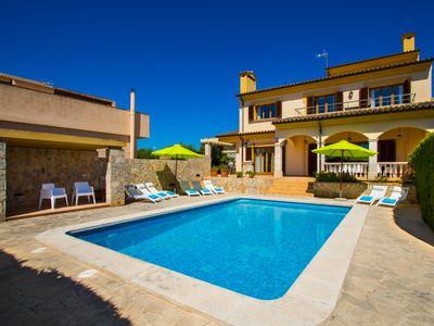 Photo for Modern and luxury villa with private pool and to 300m from Cala Millor's beach