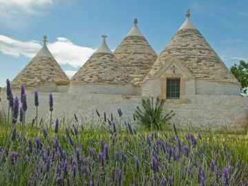 Romantic old stone made trulli of the XIX century, with private pool